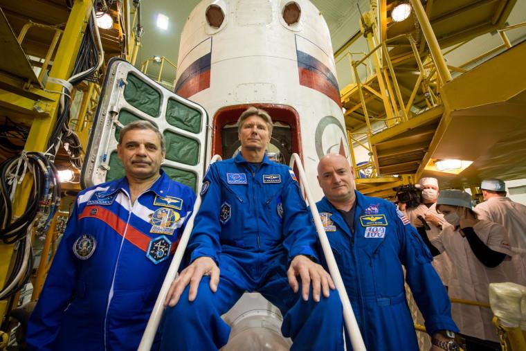 Image: Soyuz crew