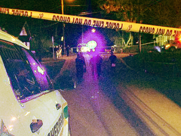 Five people were shot just before 9 p.m. on Carpenter Street near downtown Clarksville and the Austin Peay campus.