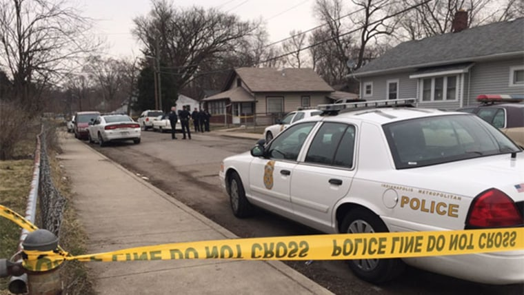 Image: Four people found dead in Indianapolis home