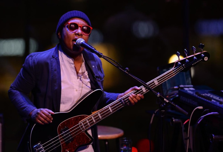 Meshell Ndegeocello performs at Lincoln Center.