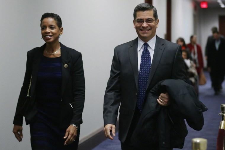 Image: House Democratic Caucu Meets On Capitol Hill