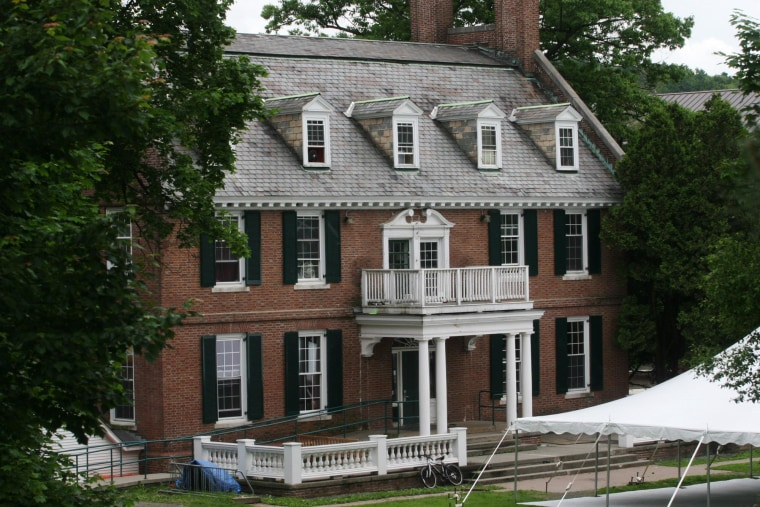 """Alpha Delta's fraternity house at Dartmouth College was a partial inspiration for the 1978 movie """"Animal House."""""""