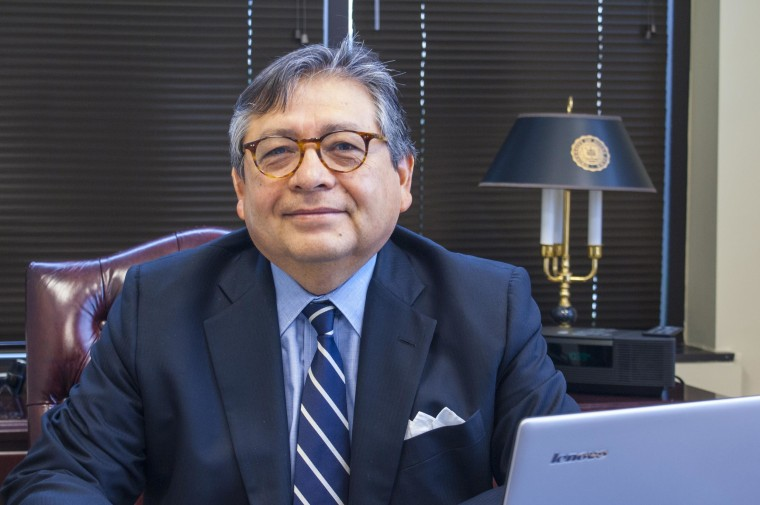"Marcos Ronquillo is challenging incumbent  Mike Rawlings for Dallas mayor. Much like Jesus ""Chuy"" Garcia, candidate for Chicago mayor, he has billed himself as a candidate who would build neighborhoods  and as an anti-establishment candidate. Ronquillo has worked as a civil rights attorney and as a lawyer for corporations. The Dallas mayor's race is May 9."