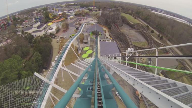 IMAGE: Fury roller coaster