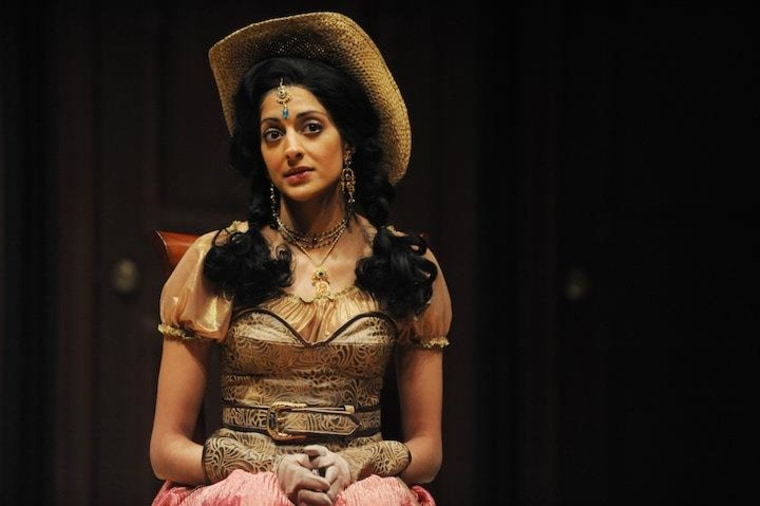 """Kumbhani played the role of Aouda in the Pittsburgh Public Theater production of """"Around the World in 80 Days."""""""