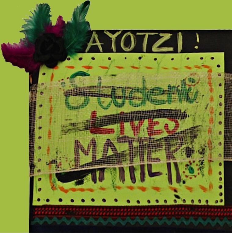 Image: Student Lives Matter artwork