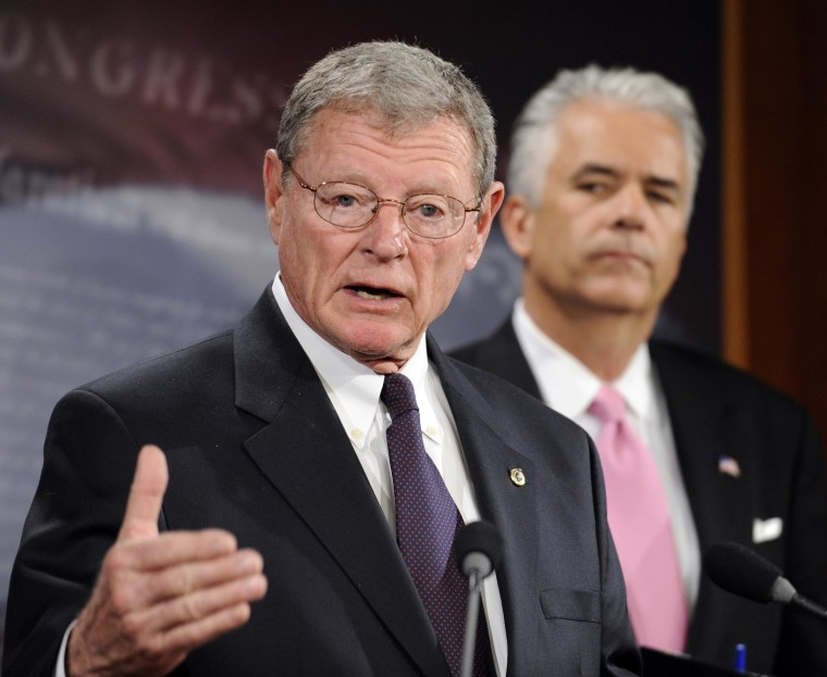 Image: James Inhofe, John Ensign
