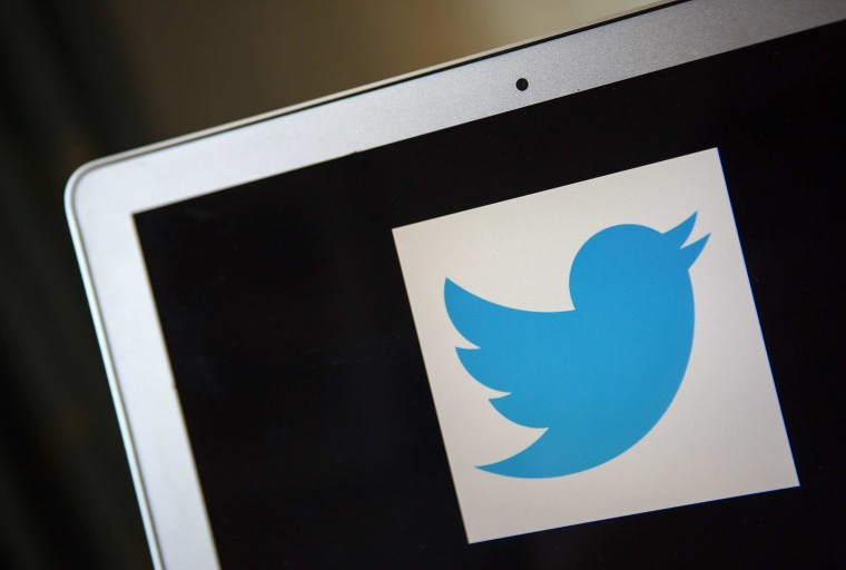 Image: File photo of a portrait of the Twitter logo in Ventura