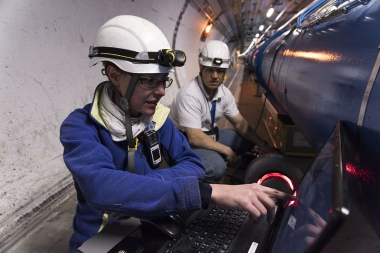 Image: LHC troubleshooting