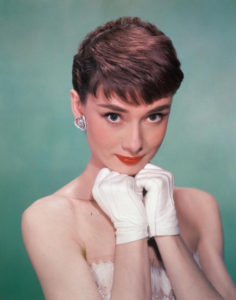 Image: Portrait Of Audrey Hepburn