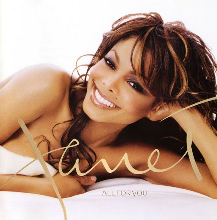 """Janet Jackson's """"All for You"""" album cover, released in 2000."""