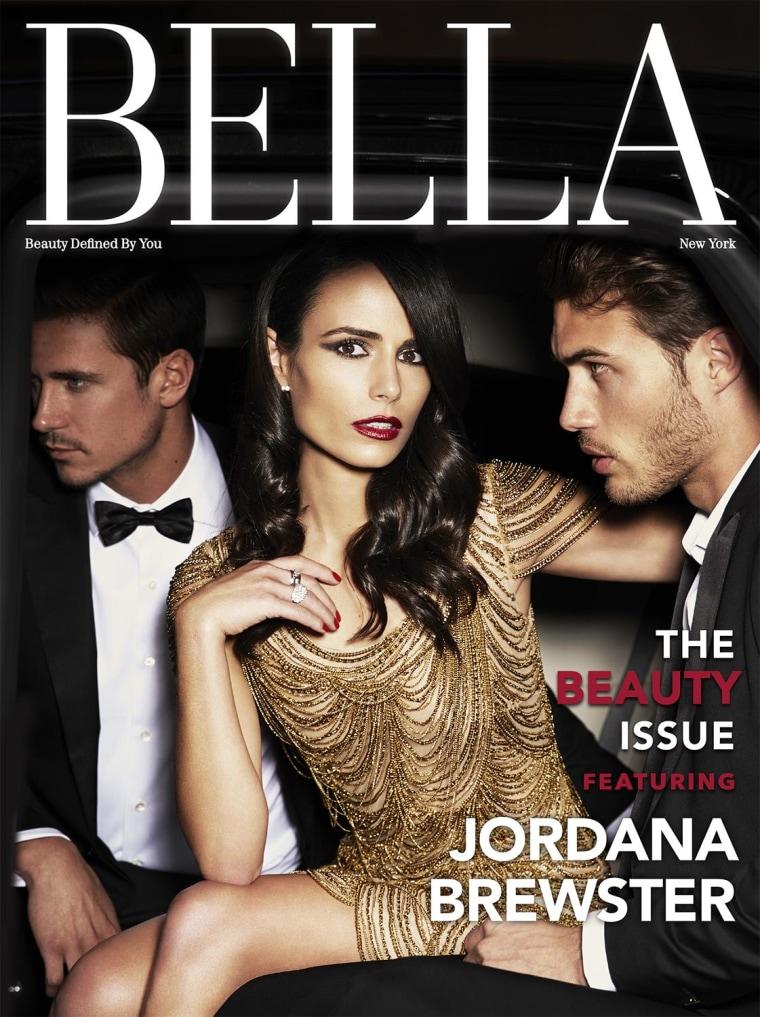 Jordana Brewster on the cover of Bella New York