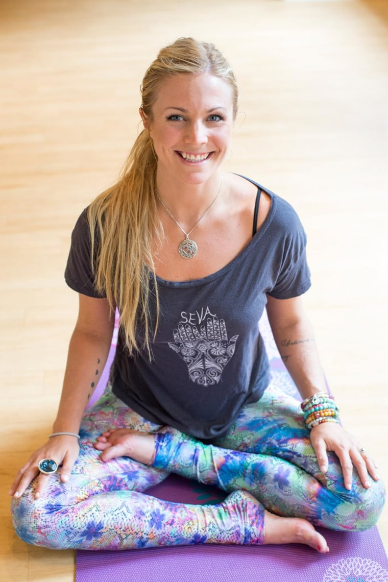 3 yoga poses to boost your mood from 'Yoga Girl' Rachel ...