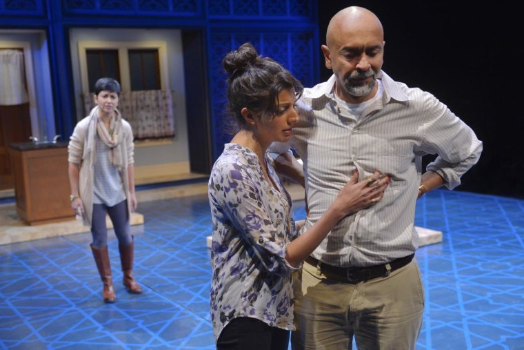 """Kumbhani played Mahwish in Pulitzer Prize-winner Ayad Akhtar's """"The Who and the What."""" (La Jolla Playhouse, 2014.)"""