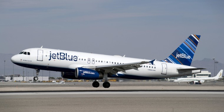 Image: JetBlue Airways plane on Feb. 26, 2014