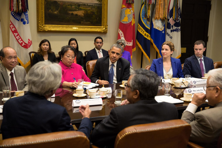 Image: Julie Chavez Rodriguez in meeting