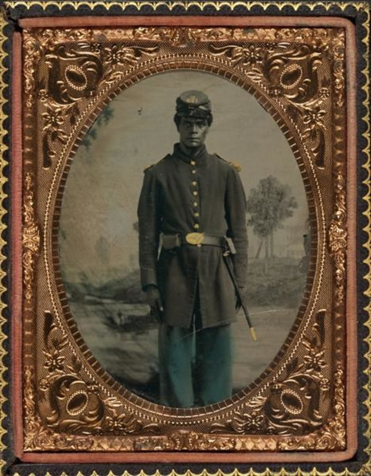 Private 103rd Colored Infantry