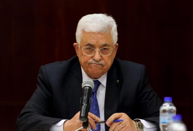 Image: Palestinian president Mahmud Abbas