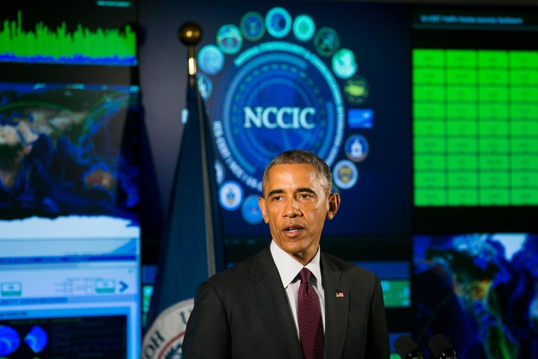 Image: President Obama Delivers Remarks On Cyber Security