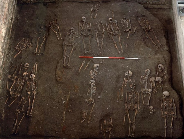 Image: Skeletons under Cambridge