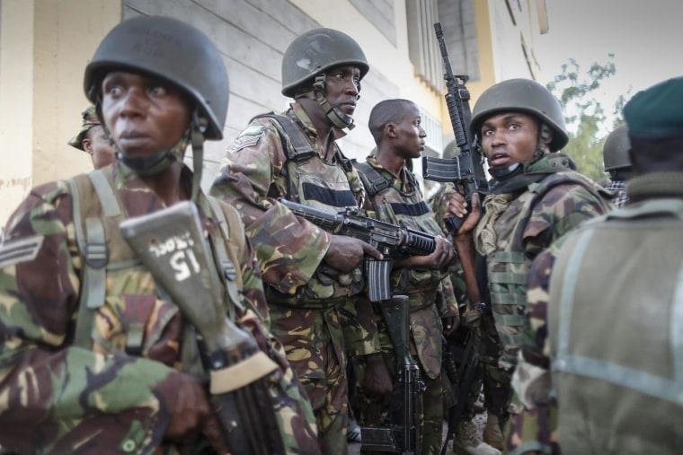 Image: 70 die in an attack on Kenyan university