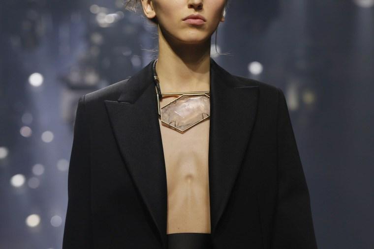 Image: Model on the catwalk