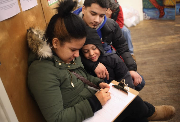 Image: Immigrants Hope To Legalize Children Under Suspended DACA Provisions