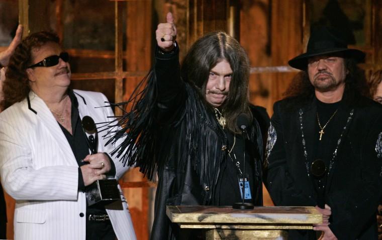 Billy Powell, Bob Burns and Gary Rossington of Lynyrd Skynyrd