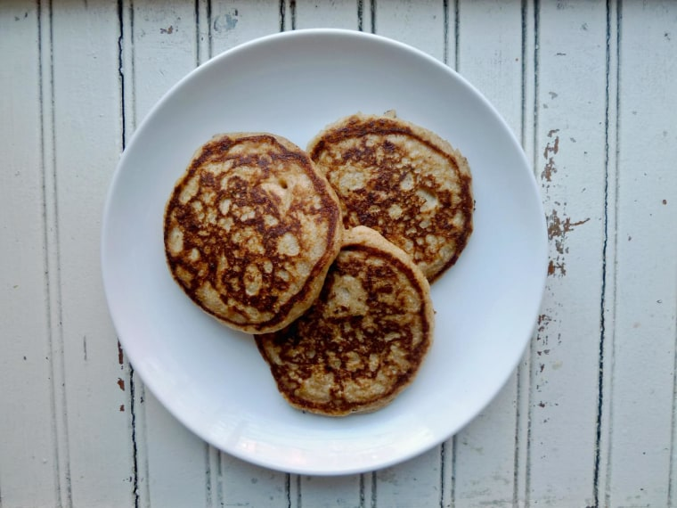 Ricotta and lemon zest pancakes recipe