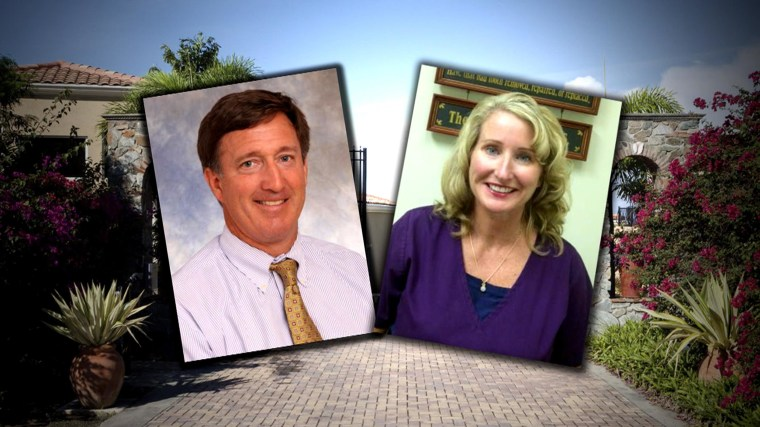 Image: Composite photo of Stephen Esmond and Dr. Theresa Devine