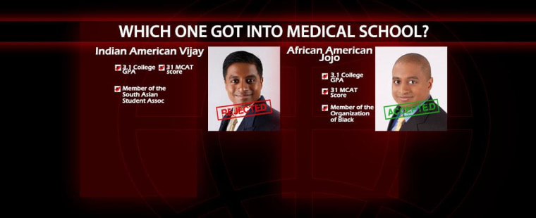 In his new book, Vijay Chokalingam, brother of Mindy Kaling, claims he pretended to be black to get into medical school.