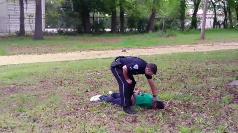 Image: Still image from video allegedly shows police officer after shooting man in North Charleston