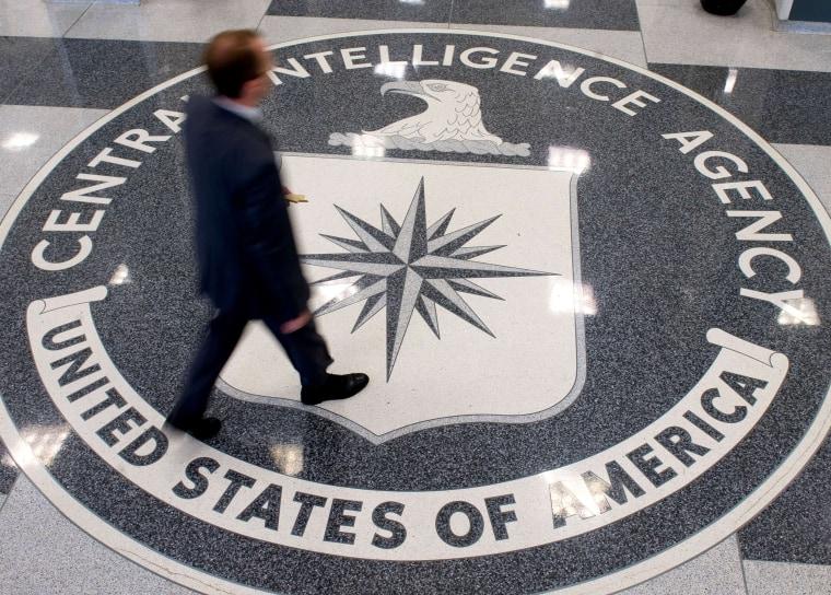 Image: CIA lobby