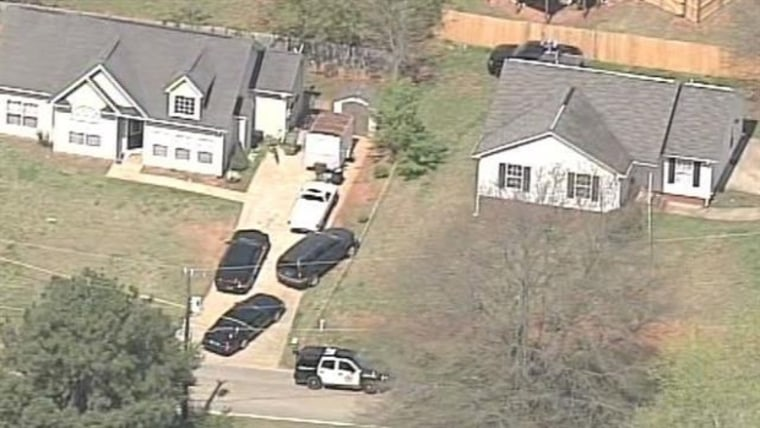 The scene of an officer-involved fatal shooting in Spartanburg County, South Carolina.