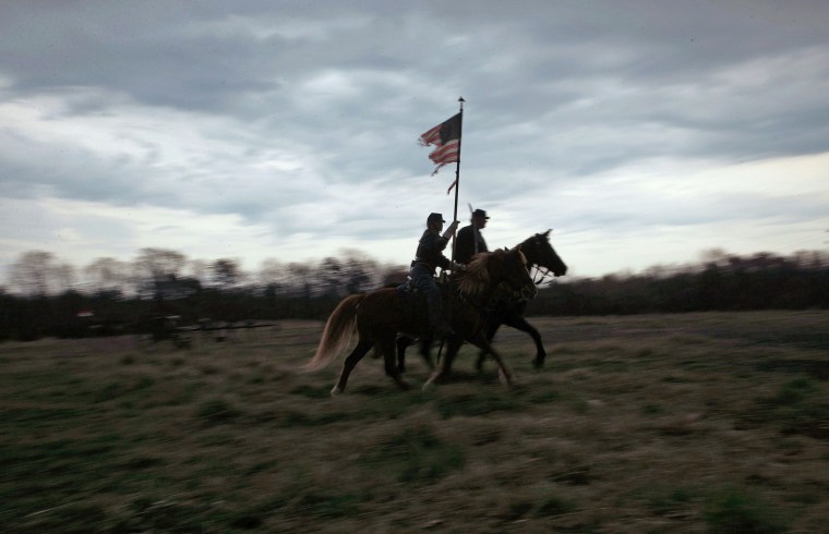 Image: Appomattox Marks 150th Anniversary Of Surrender Of Lee's Army In Civil War