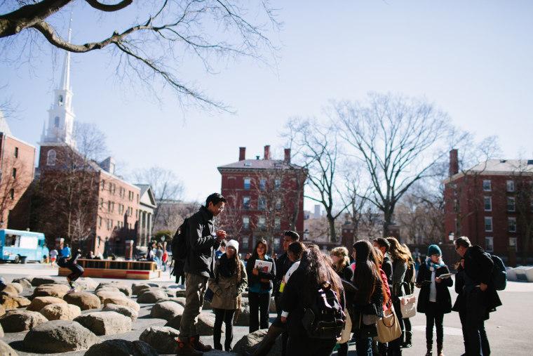 Image: Arizona Ivy League Project tours Harvard