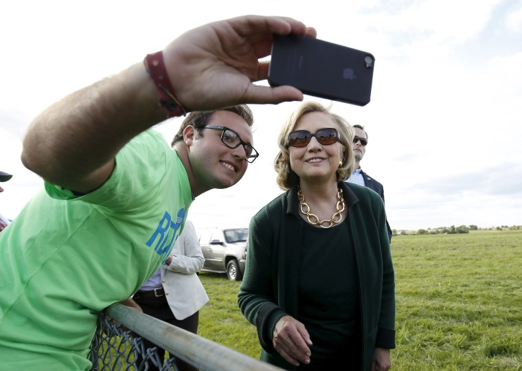 Image: From the Files: Politician Selfies