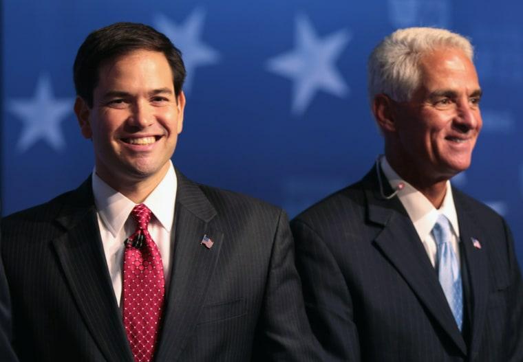 Image: Marco Rubio, Charlie Crist