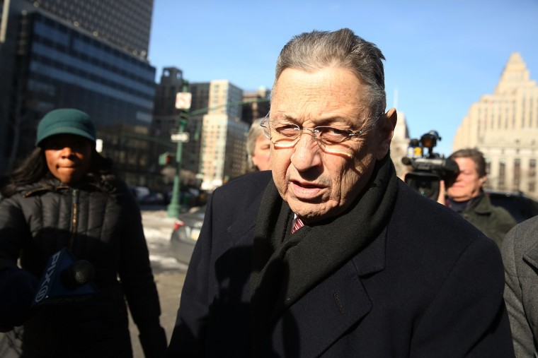 Image: Sheldon Silver on Feb. 24, 2015