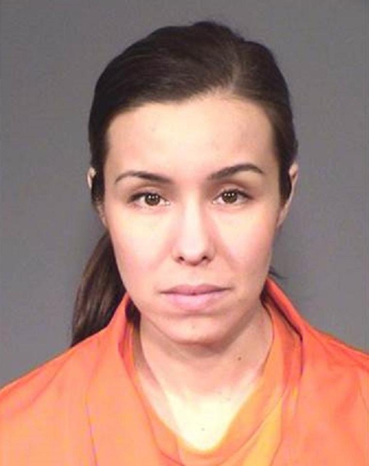 IMAGE: Jodi Arias prison mugshot