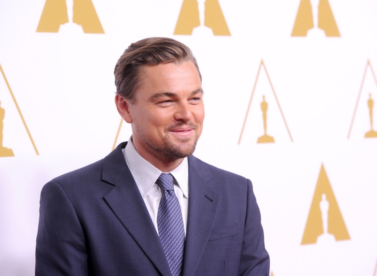 Image: Leonardo DiCaprio on Feb. 10, 2014