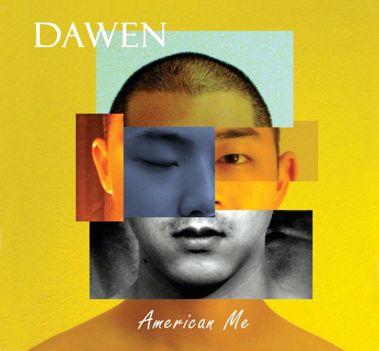 "Dawen's album cover, ""American Me."""