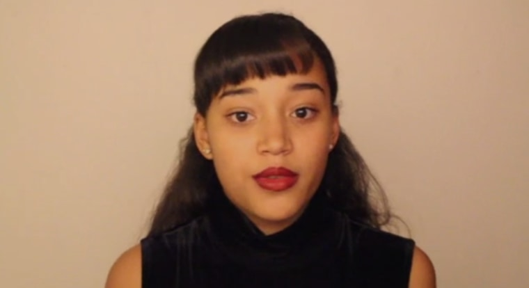 "Amandla Stenberg appears in Tumblr video, ""Don't Cash My Cornrows."""