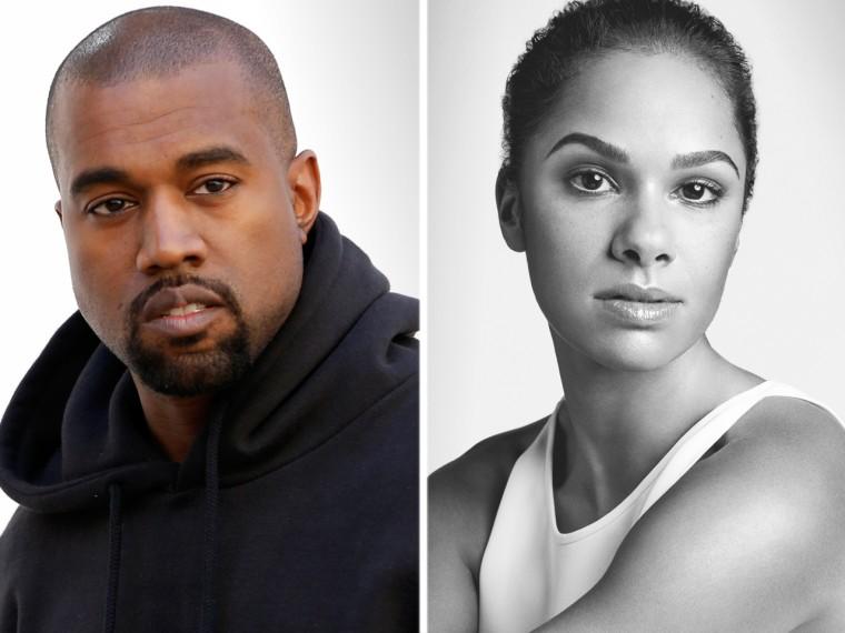 Kanye West and Misty Copeland