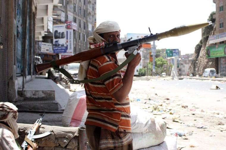 Image: TOPSHOTS-YEMEN-CONFLICT