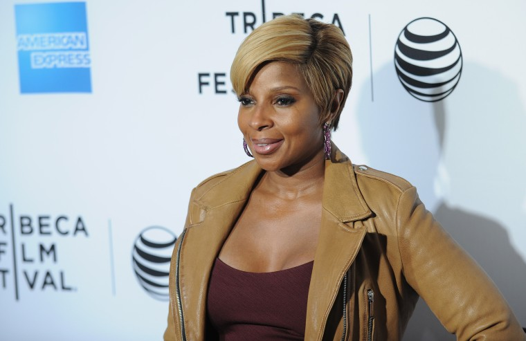Tribeca Film Festival Red Carpet World Premiere Of 'Mary J. Blige - The London Sessions,' At The Beacon Theater, NYC