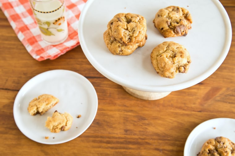 Fresh homemade cookies are ready in a flash with this freeze-and-bake recipe!