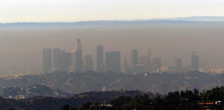 Image: Smog in Los Angeles