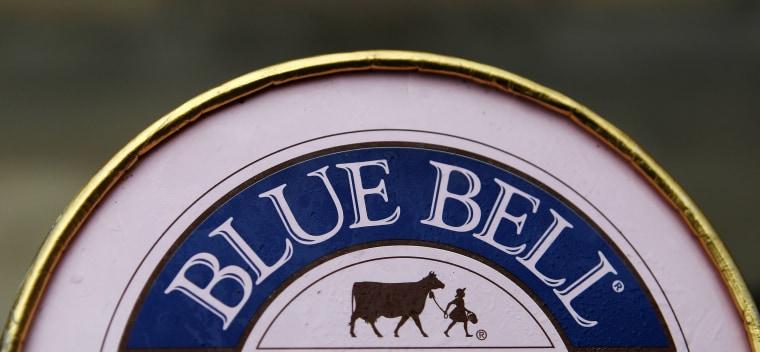 Image: Blue Bell ice cream