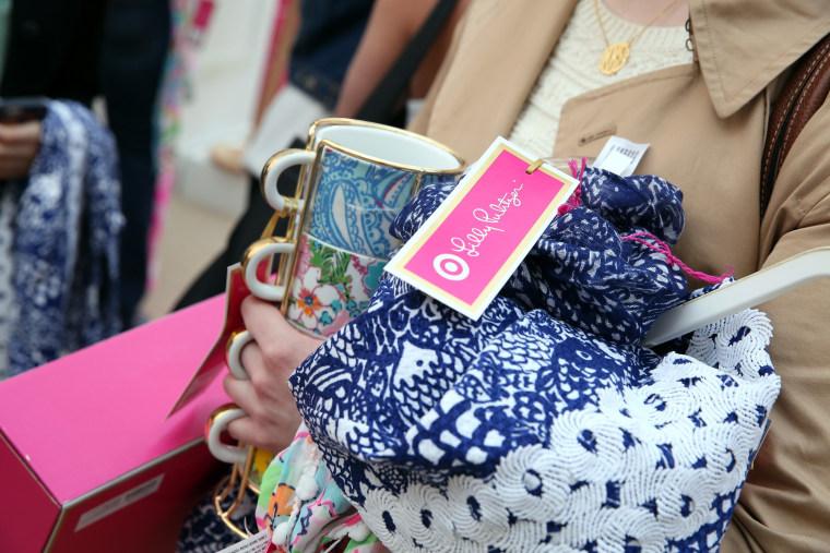 Image: Lilly Pulitzer Target Pop-up Shop